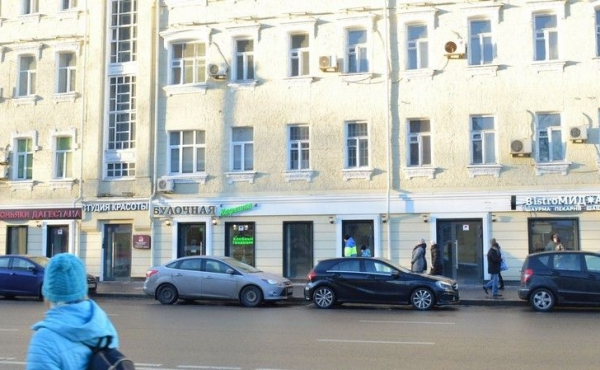 Торговая площадь на Большой Серпуховской