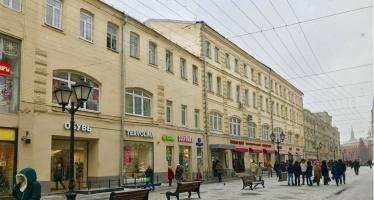 N266, Торговая площадь на улице Никольской
