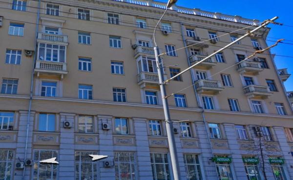 Офис на Ленинградской проспекте